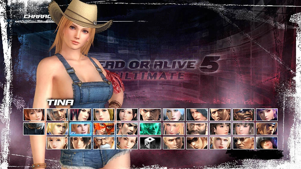 Image from Dead or Alive 5 Ultimate Tina Overalls