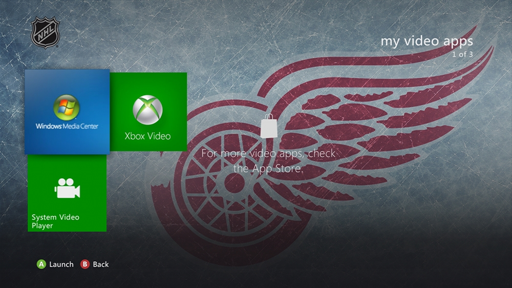 Image from NHL - Red Wings Highlight Theme