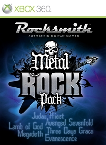 Rocksmith™ Metal Rock Pack