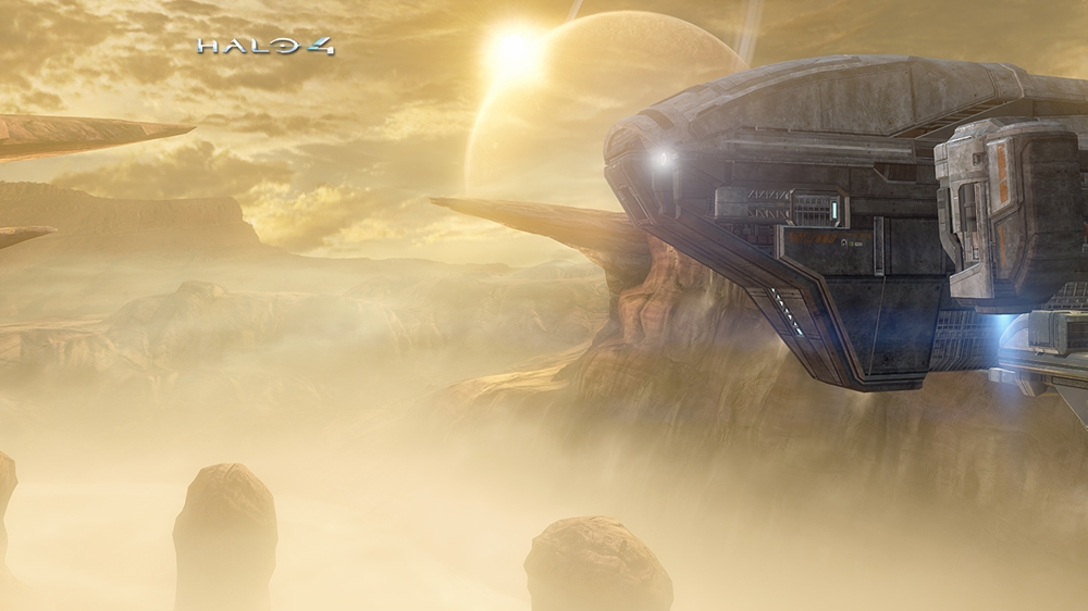 Image from Halo 4: Outcast Map Theme