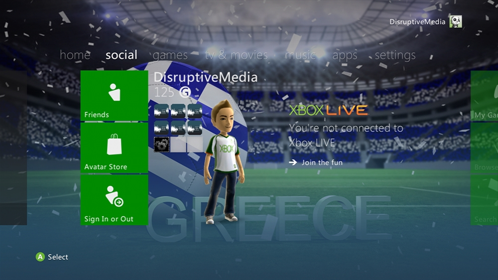 Imagen de World of Football - Greece Theme
