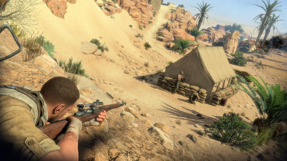 Image from Sniper Elite 3: Save Churchill, Part 3 – Confrontation