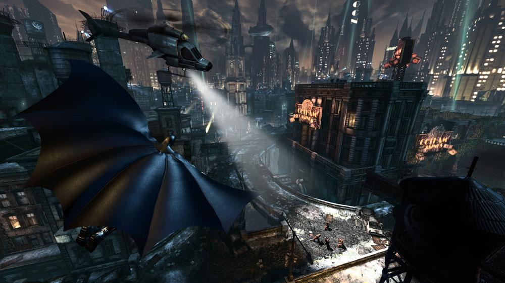 Image from Batman: Arkham City - Hugo Strange Trailer