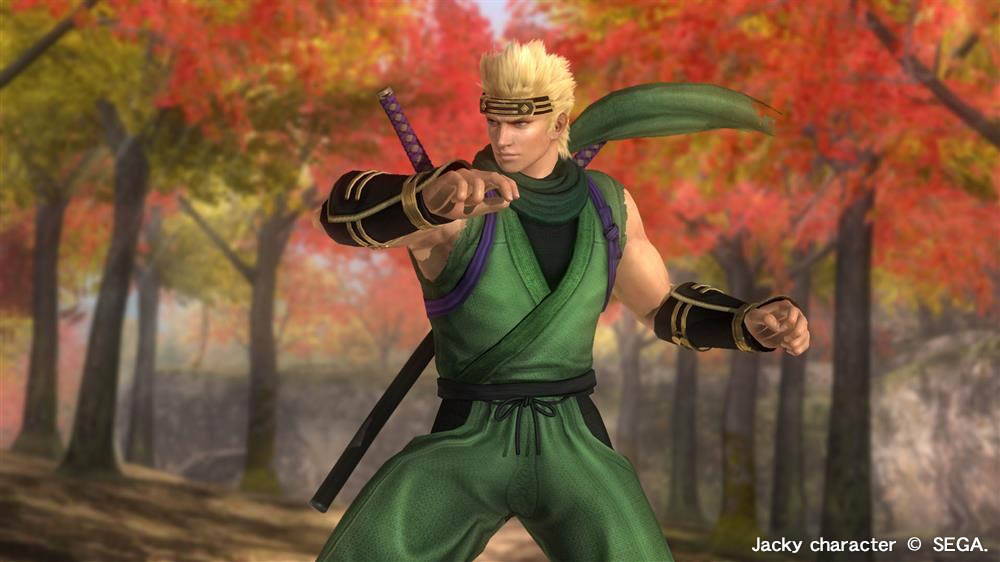 Image from DOA5LR Ninja Clan 2 - Jacky
