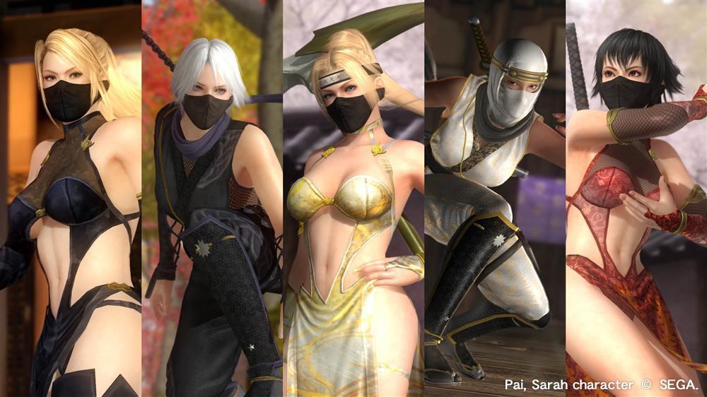 NINJAなりきりコスチューム Vol.3 10キャラクターセット の画像
