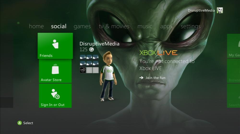 Imagen de Evil Alien Theme