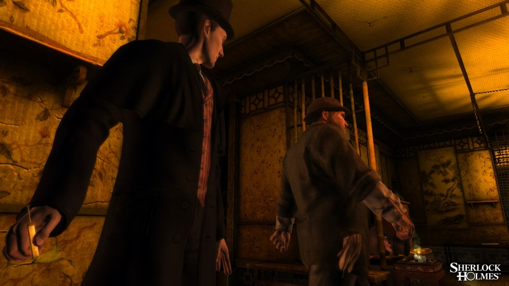Image from The Testament of Sherlock Holmes - Teaser 3