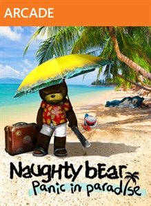 Naughty Bear Panic in Paradise - Ghostfacebear Costume