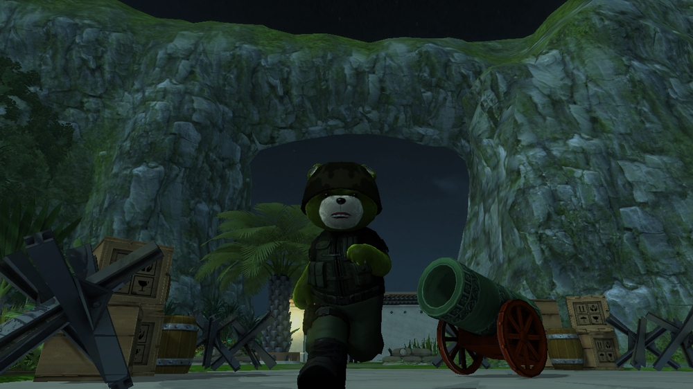 Image from Naughty Bear Panic in Paradise - Ghostfacebear Costume