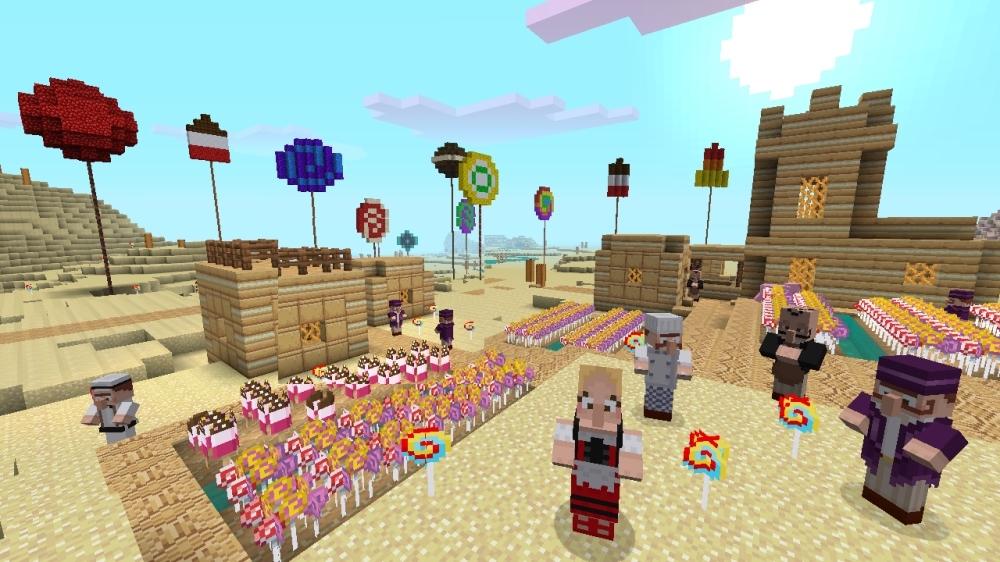 Image de Minecraft - Pack de textures bonbons (essai)