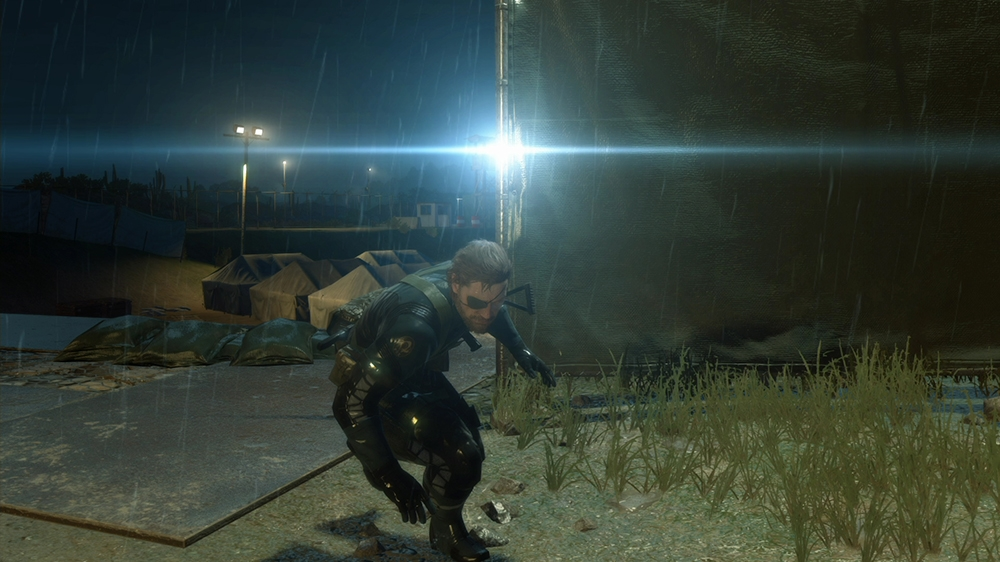 Image from METAL GEAR SOLID V: GROUND ZEROES 'Night' Trailer