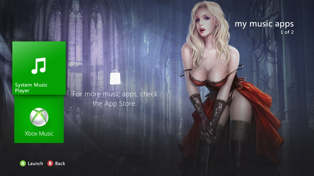 Image from Crimson Vampire Theme