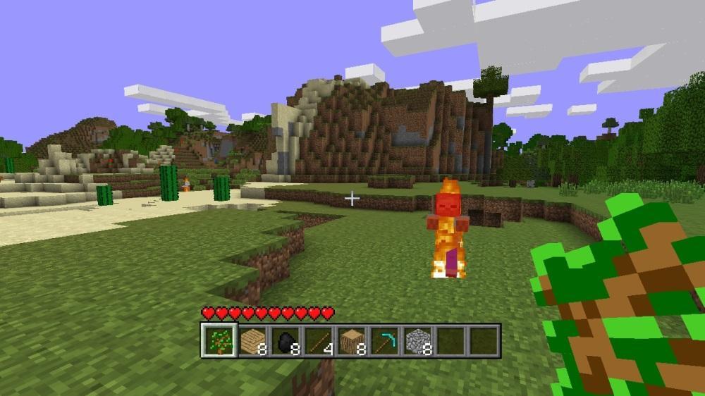 """Imagem de Minecraft - """"Pessoal, chegou!"""""""