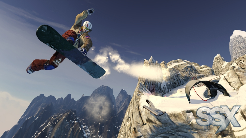 Image from SSX: IT'S TRICKY Trailer