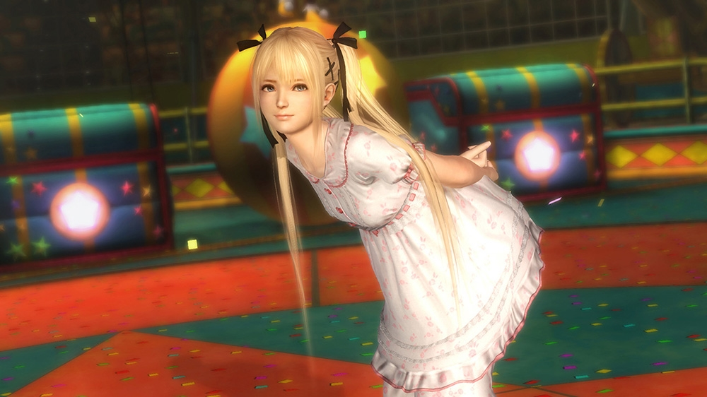 Image from Dead or Alive 5 Ultimate Marie Rose Bedtime Costume