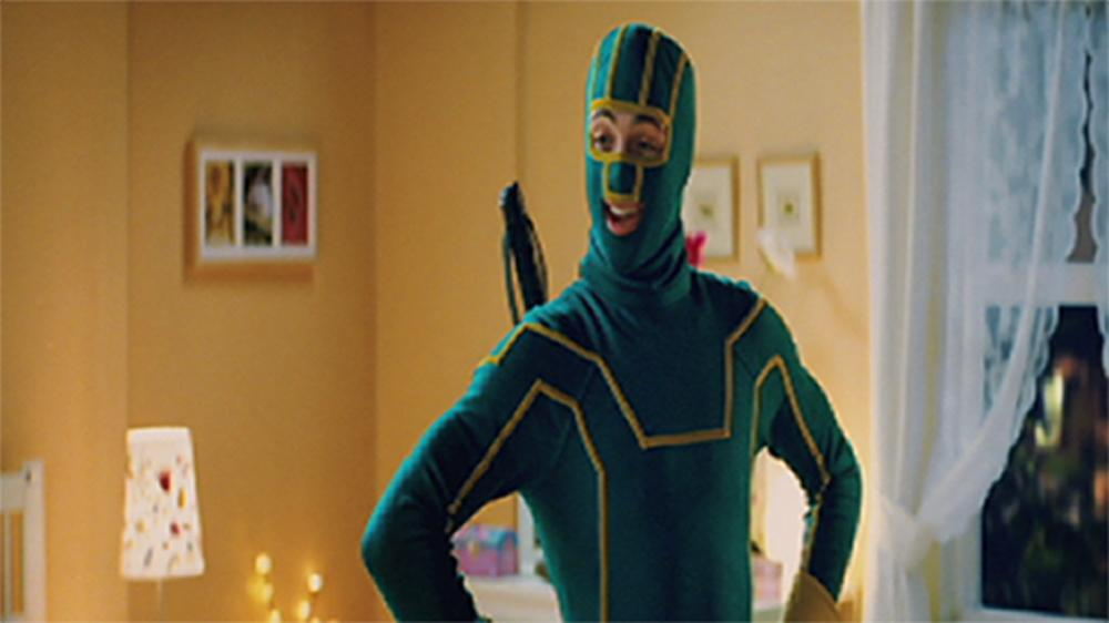 Image from Why are you dressed as Kick-Ass?
