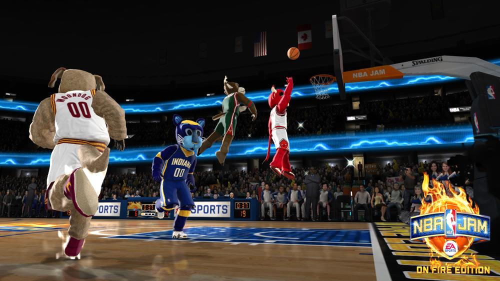 Image from NBA JAM: On Fire Edition - Honey Badgers Sizzle