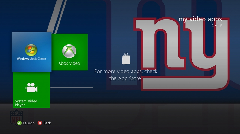 Image from NFL - Giants Rush Theme