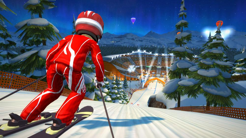 Image from Kinect Sports: Season Two – Free Ski Trial