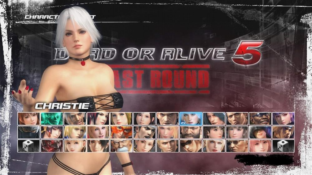 Image from DOA5LR Showstoppers Christie