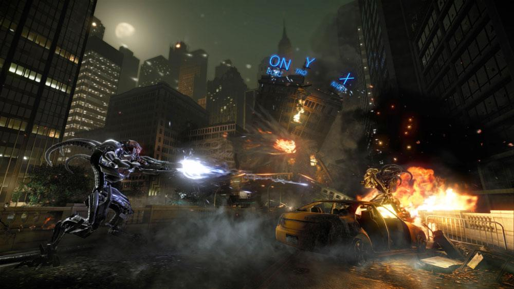 Snímek ze hry Crysis 2 Story Trailer