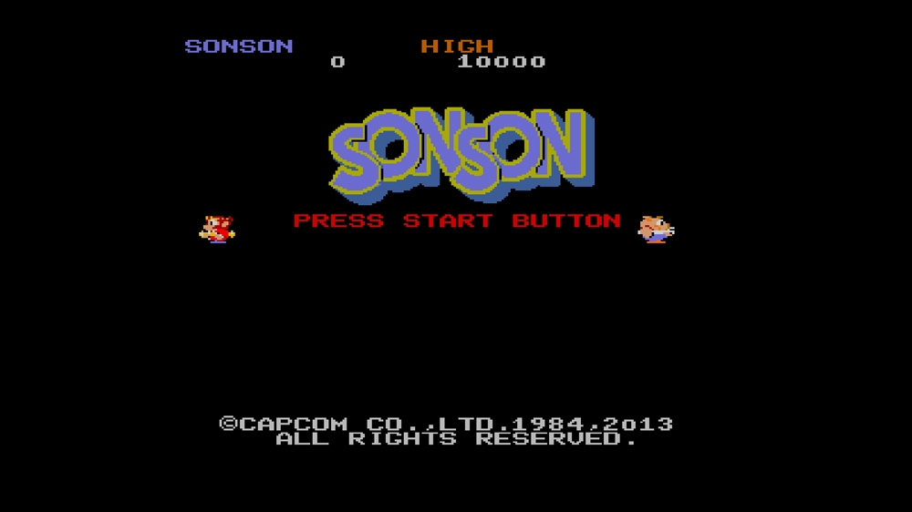 Image from CAPCOM ARCADE CABINET : SONSON