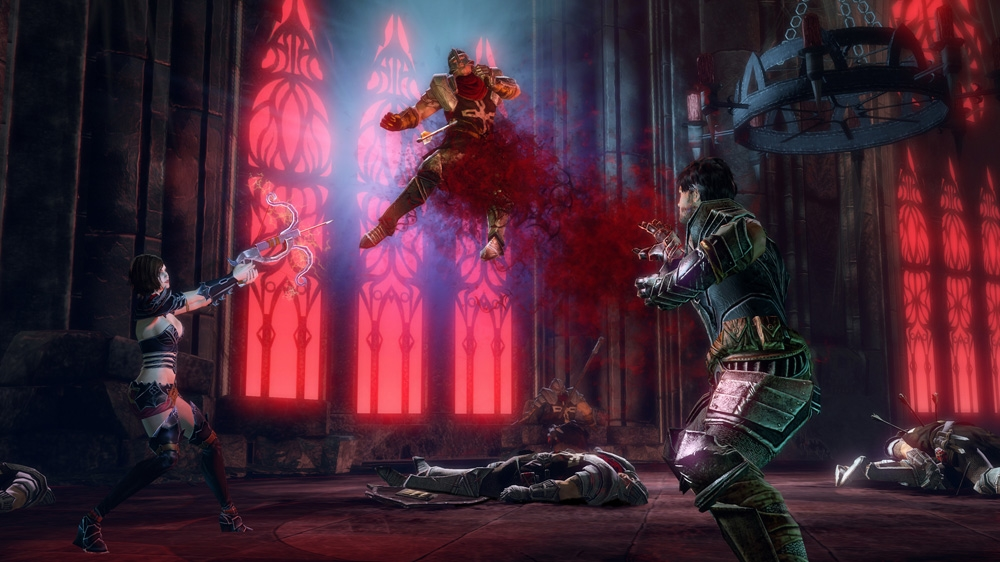 Bilde fra Blood Knights Launch Trailer