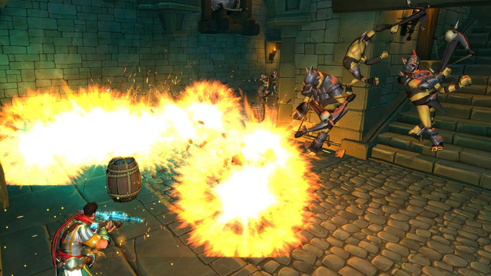 Image from Orcs Must Die! Trailer