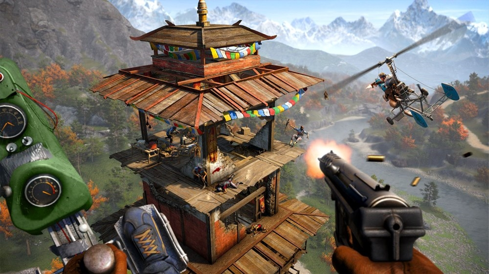 Image from FAR CRY 4 Escape from Durgesh Prison