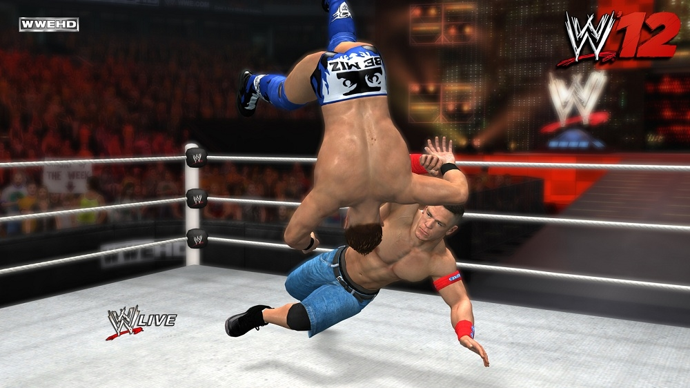 Image from WWE &#39;12 Launch Trailer