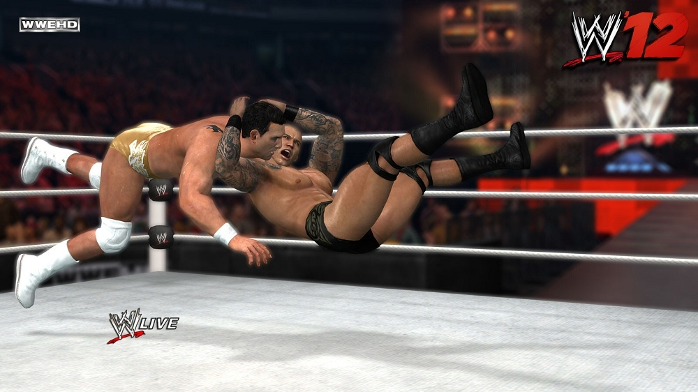 Image from WWE '12 Launch Trailer
