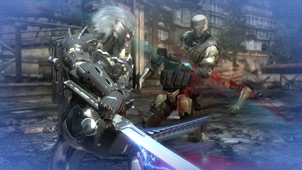 Image from METAL GEAR RISING: REVENGEANCE Cyborg Ninja