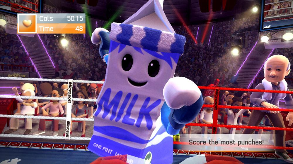 Image from Kinect Sports Calorie Challenge Pack