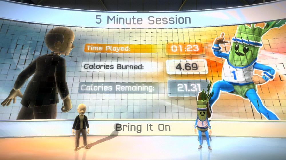 Snímek ze hry Kinect Sports Calorie Challenge Pack