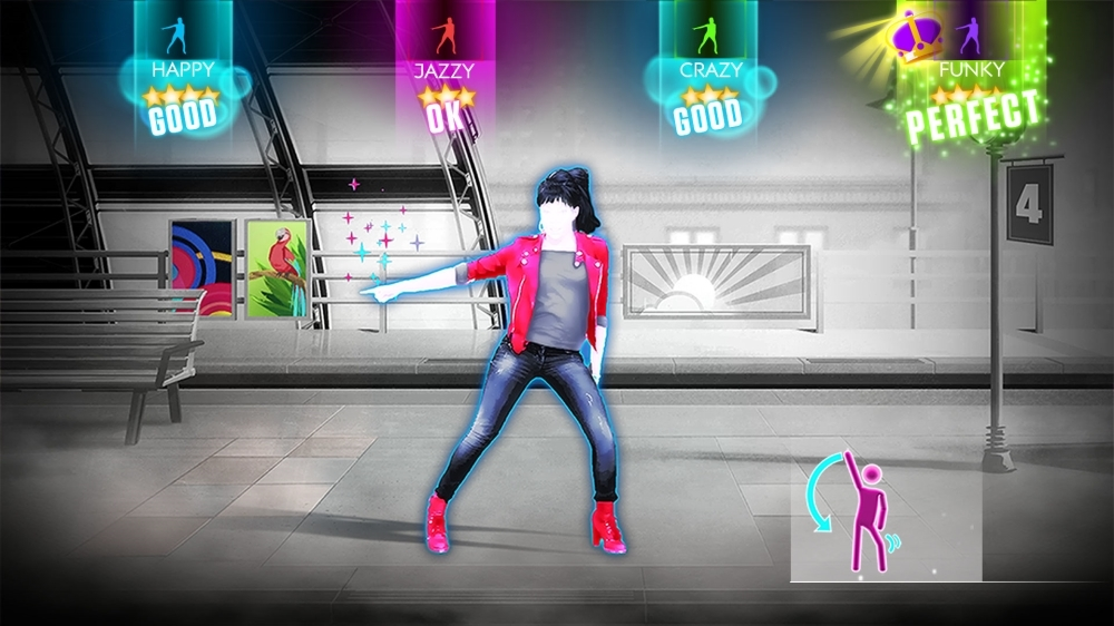 "Image from Just Dance 2014 - ""Part of Me"" by Katy Perry"