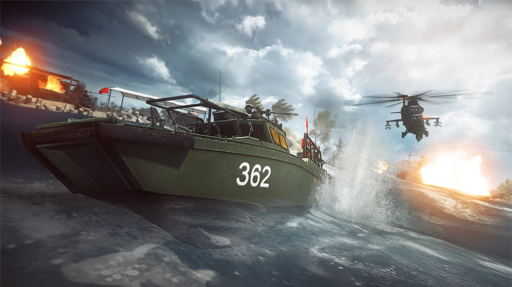 Image from Battlefield 4™ Naval Strike