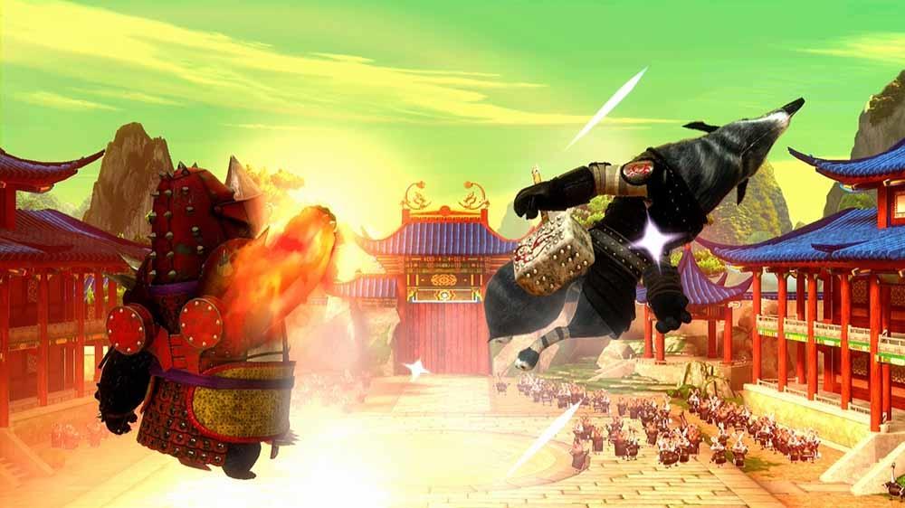 Obraz z Kung Fu Panda Character: Rhino Armor Li