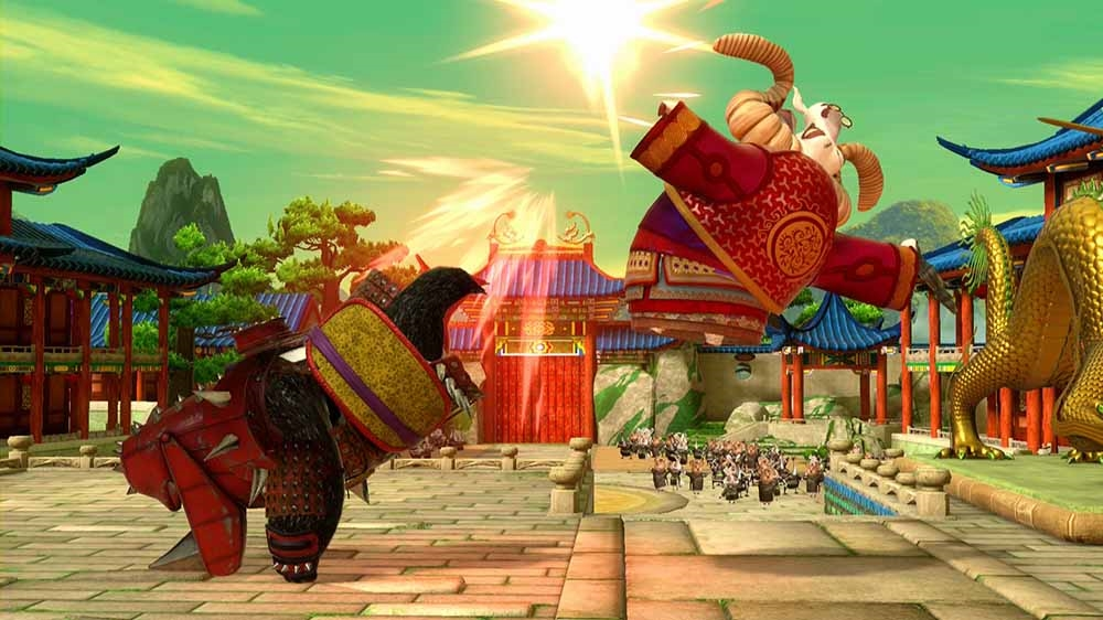 Image de Kung Fu Panda Personnage: Li Armure Rhino