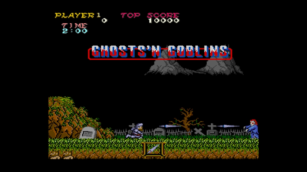 Image from CAPCOM ARCADE CABINET : GHOSTS&#39;N GOBLINS