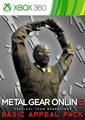 "METAL GEAR ONLINE ""BASIC APPEAL PACK"""