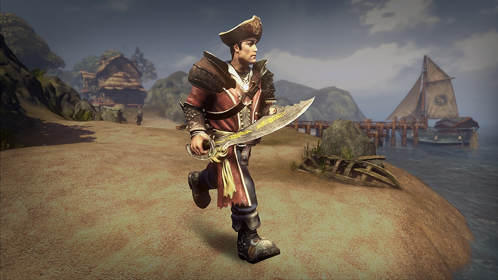 Image de Pack Arme et tenue de Pirate Fable