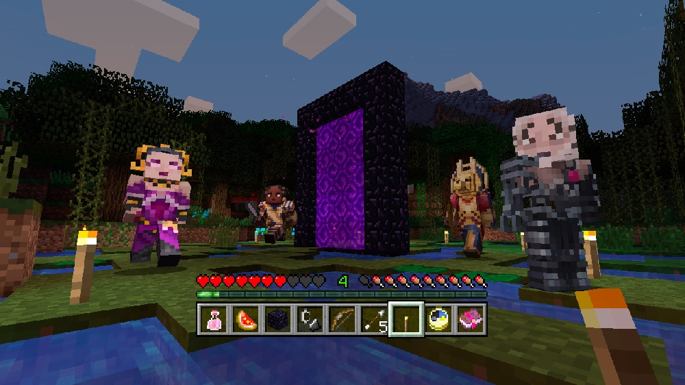 Imagen de Pack de aspecto Magic: The Gathering de Minecraft