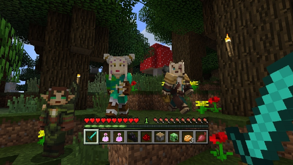 Image from Minecraft Magic: The Gathering Skin Pack
