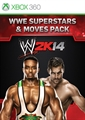 Pack Superstars WWE/Mouv.