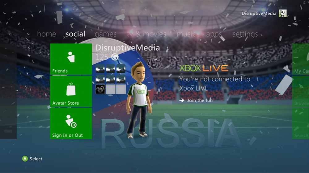 Image from World of Football - Russia Theme