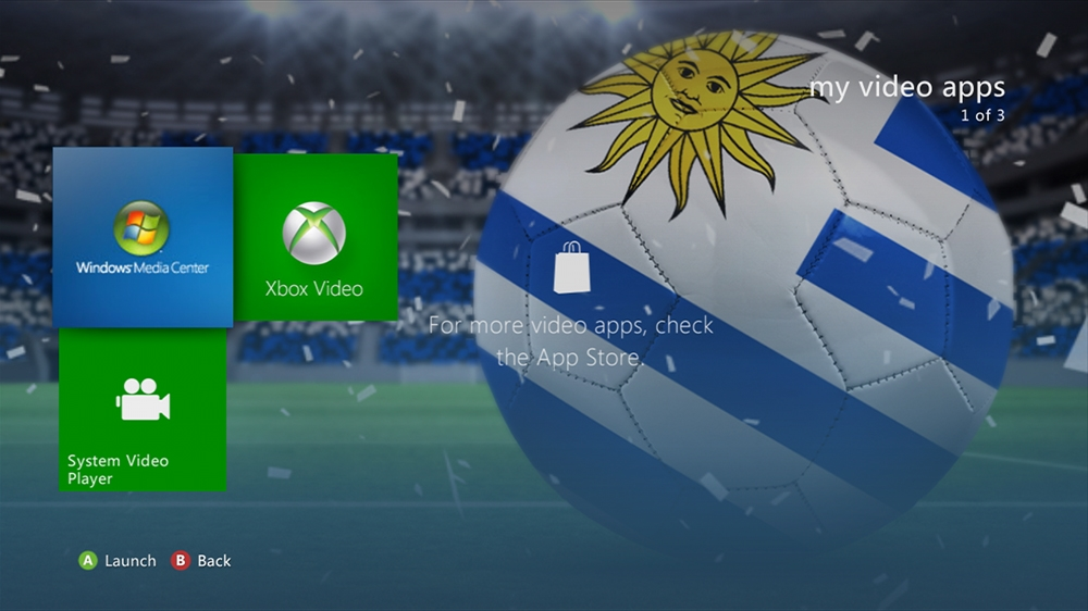 Imagen de World of Football - Uruguay Theme