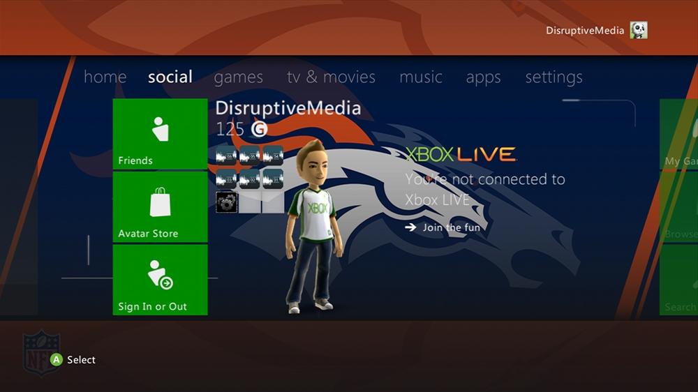 Imagen de NFL - Broncos Rush Theme