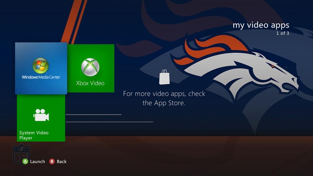 Kuva pelistä NFL - Broncos Rush Theme