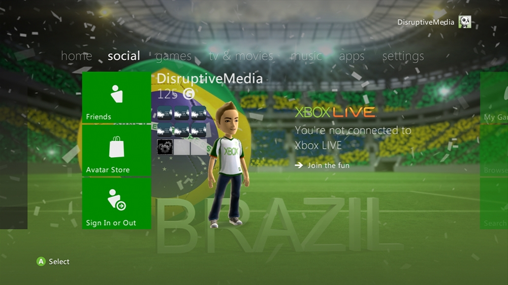 Image from World of Football - Brazil Theme