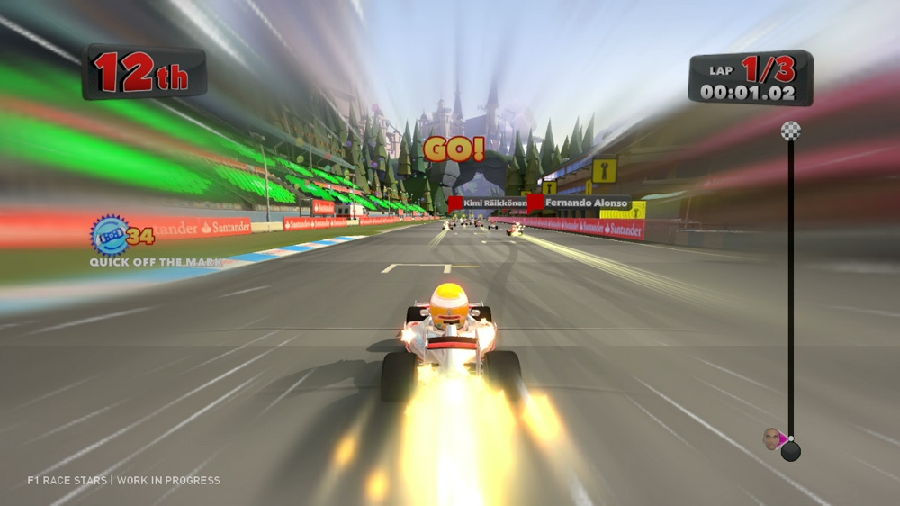 Image from F1 Race Stars Gameplay Trailer 2